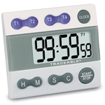 USABlueBook Traceable Four-Channel Alarm Timer