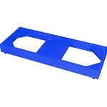 Cabinet Floor Stand, Blue