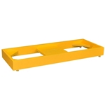 Cabinet Floor Stand, Yellow