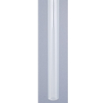 "Acrylic Sight Glass Tube 5/8"" OD x 1/8"" wall x 6' long"