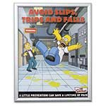 Simpson Safety Posters - set 1 (set of 12 posters)