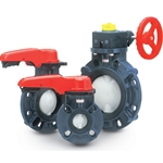 "Asahi Butterfly Valve 2"" Lever Operated PVC/EPDM"