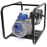 "AMT 3"" Trash Pump 9HP, Honda, Electric Start"