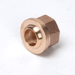 "740-F3 3/4"" NPTF End Connector No-Lead Fitting"