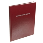 Lab Notebook, Ruled, Burgandy 6 per Case