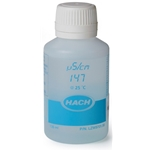 Hach Conductivity Standard Solution, 147 µS/cm, KCl, 125 mL, LZW9701.99