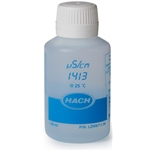 Hach Conductivity Standard Solution, 1413 µS/cm, KCl, 125 mL, LZW9711.99