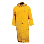 48 in Long Yellow Raincoat w/ Hood' Large