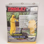 "48"" Long Yellow Raincoat w/ Hood, X-Large"