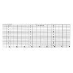 Eberline Strip Charts' 64MM x 50'' Roll' 10814-C14B
