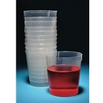 Beakers' Stackable' PP' 500mL'  500/CS' BST500-CASE