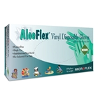 Aloe Flex Powder Free Vinyl Gloves' Large' 100/Bx' High Five, V513