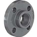 "1"" PVC 1-Piece Flange FPT CL150 150 psi' 852-010"