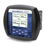 2300 AquaMetrix Multi-Parameter Controller (4x Analog & 3x Frequency Inputs' 4x Relay Outputs)  with Datalogging & Ethernet