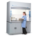 4' Labconco Protector Premier Fume Hood with 2 Fixtures & GFCI' 100400002