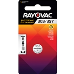 Rayovac® Silver Oxide Batteries' 1/Pack
