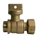 "Insetter Ball Valve' Low Lead 5/8 x 3/4"" K Thread' 761001S 3/4""x5/8""x3/4"""