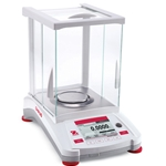 Ohaus Adventurer Analytical Balance' 120 g Capacity' 0.1 mg Resolution' Internal Calibration' AX124