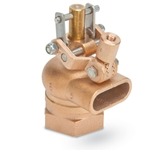 "Lead-Free Brass Float Valve' 2"" NPT Inlet' Free Flow Outlet' R605T-2-LF"