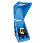 Chemical Metering Pump Containment Enclosure for Single Pumps, Blue