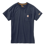Carhartt® Force Cotton T-Shirt' Navy' Large