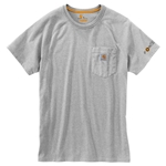 Carhartt® Force Cotton T-Shirt' Gray' 2X-Large