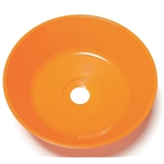 "11-1/2"" Orange Plastic Bowl (for Guardian Showers/Eyewash Stations)' 100-009ORG-R"