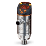 "IFM Efector Pressure Switch w/ Display' 0 to 14.5 psi' 2xOutputs' 1/4""NPT(M)' PN7697"