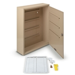 "Key Cabinet (Holds 160 Keys)' 14""W x 17-1/8""H x 3-1/4""D"