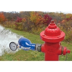 "USABlueBook® 2.5"" Flow Tester Diffuser w/ 160 PSI/2120 GPM Gauge"