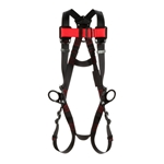 3M™ Protecta® Vest-Style Full-Body Harness with Back & 2 Side D-Rings, Medium/Large