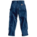 "Carhartt® Canvas Work Pants' Navy' 33"" x 30"""