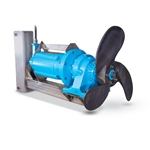"Air-O-Lator Submersible Gear-Drive Mixer with 26"" Propeller' 5 hp' 13'000 gpm"