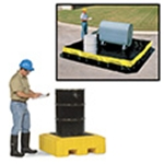Spill Containment: Pallets, Berms & Plugs