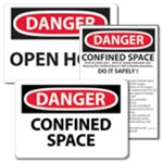 Signs: Confined Space