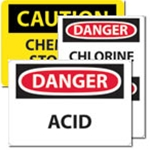 Signs: Chemicals & Storage
