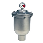 Pulsation Dampener, SS/Viton, 175 Cubic Inch, 2