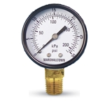 "Pressure Gauge' 2"" Dial' 300 PSI' Imported"