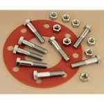 "4"" Flange Pack, Includes 1/8"" Full-Face Gasket & 8 Stainless Bolts"