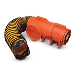 Com-Paxial Blower w/Cannister & 15 of 8 Duct Hose - 12VDC