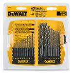 DeWalt® 17-Piece Black Oxide Drill Bit Set