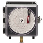 "Dickson Weather-Resistant 4"" Pressure Recorder 0-200"