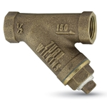 "Zurn Wilkins Model SXL Bronze Y-Strainers for 2"" Pipe"