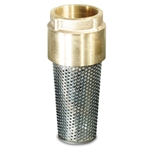 "Lead Free Bronze Foot Valve and Strainer' 1-1/4"" NPT' 527T06LF"