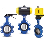 Sharpe® Wafer Style Butterfly Valve' Manually Actuated' 4""