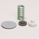 "Repair Kit for Griffco Back Pressure & Pressure Relief Valves' 1/4"" to 1/2""' 150 PSI' (Diaphragm' Spring & O-Rings)"