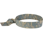 Ergodyne Chill-Its® Evaporative Cooling Bandana w/ Tie Closure' Camouflage' 12304