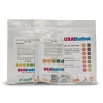 USABlueBook® pH Test Strips' 1 to 14 pH' 1 Unit Increments' 50/pk