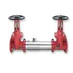 "Watts® 757-OSY Double Check Preventer' 4"" FLG' 0111512"