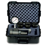 "GFE Hydrant/Apparatus Flow Tester Kit w/ Case & Large Tips (1.5 to 2.5"")' 2.5"" NST"